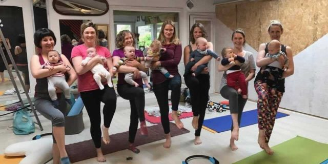 Post-Natal Mother & Baby Pilates at PHPT Portobello